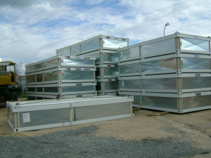 Доставка блок-контейнеров и модульных зданий CONTAINEX по России