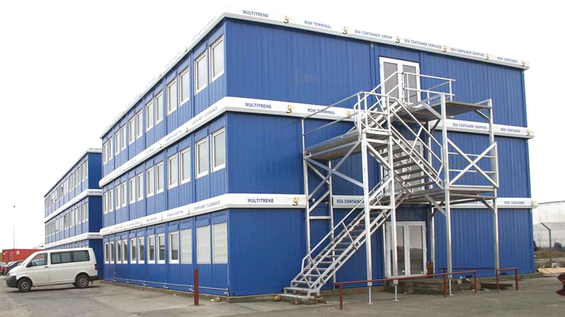 Модульные быстровозводимые здания из блок-контейнеров