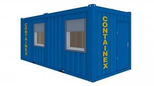 16 футовые офисно-бытовые блок-контейнеры 5 метровые