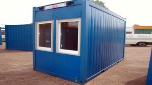 16 футовый офисный блок-контейнер