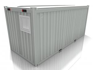 20 футовый офисный блок-контейнер