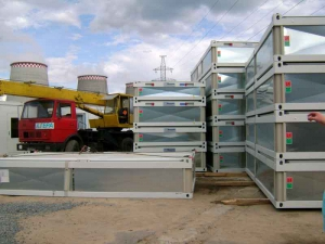 Купить блок-контейнеры и модульные здания CONTAINEX в Гусе Хрустальном