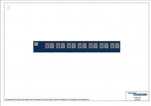 1-этажное модульное быстровозводимое здание контейнерного типа CONTAINEX из  блок модулей проект 10