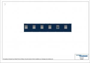 1-этажное модульное быстровозводимое здание контейнерного типа CONTAINEX из  блок модулей проект 20