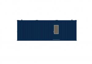1-этажное модульное быстровозводимое здание контейнерного типа CONTAINEX из  блок модулей проект 5